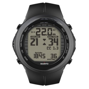 Komputer Suunto DX Black Elastomer