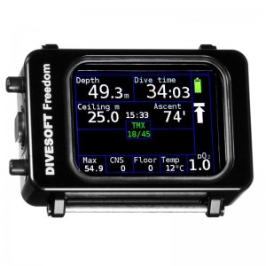 Komputer Divesoft Advanced Bottom Timer